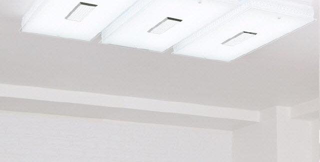 LED 히트 직사각 거실등 150W (화이트)