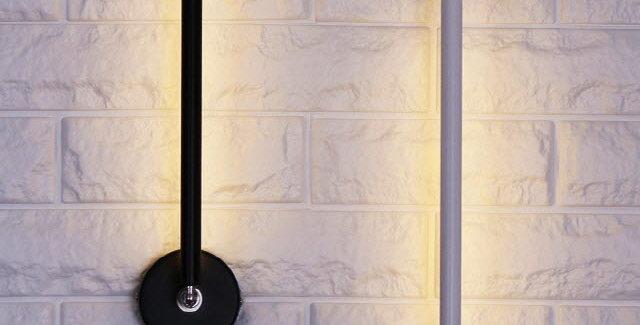 LED 4017 스틱 회전벽1등 5W(화이트/블랙)