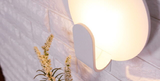 LED 원형 간접 벽등 3W(화이트)