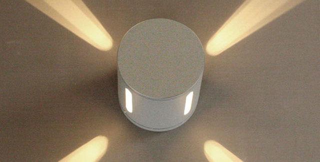 스카이 100Φ 방수 4구(흑색,회색) 방수등