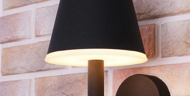 LED 엘르 외부벽등 8W(블랙)