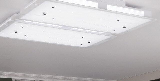 LED 블루 거실등 100W