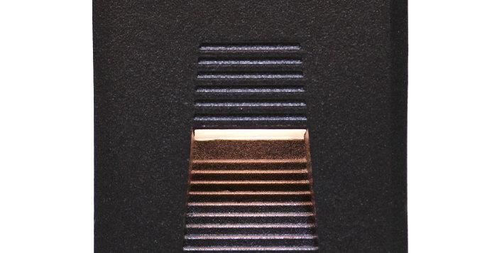 4301 LED 사각 계단매입 3W (흑색)