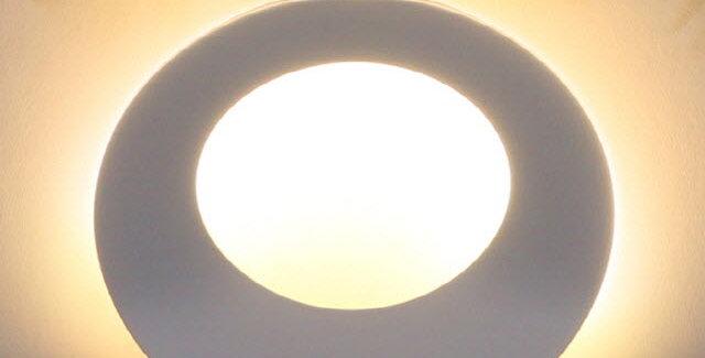 LED 링타원 간접 벽등 6W(화이트)