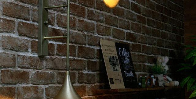 트럼펫 2등 벽등(신주브론즈)