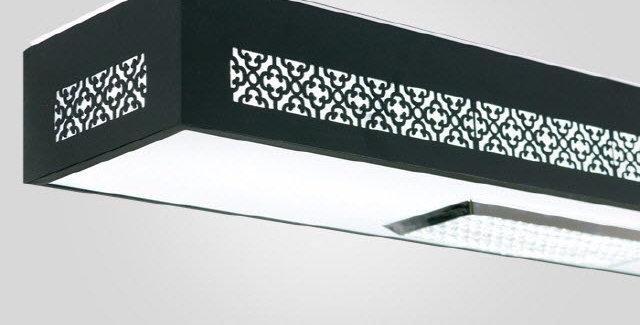 LED 크로버 주방등 50W (블랙)