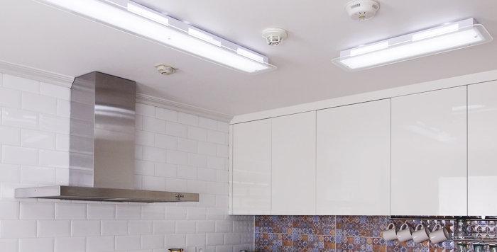 LED 화이트 신형 주방등 25W / 50W