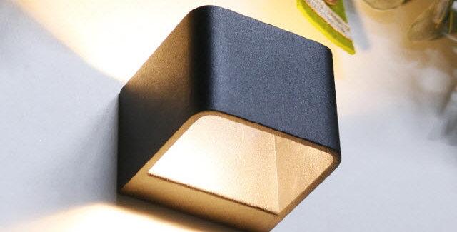 LED 사각 캐스팅 6W(블랙)