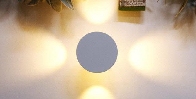LED 써클 간접 벽등 3W(화이트)