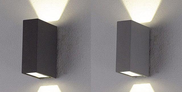 LED직사각 방수 벽등