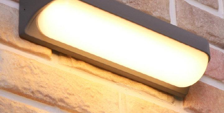 LED 베리 외부벽등 12W (그레이)