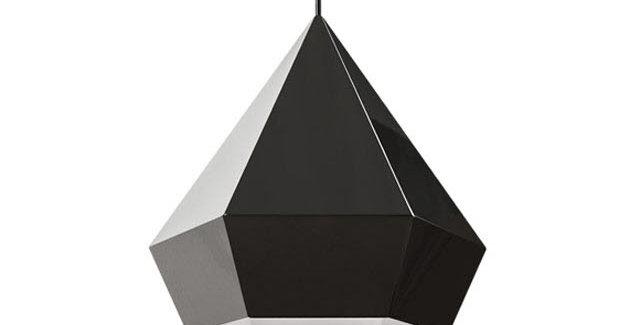 사파이어 L 펜던트 블랙