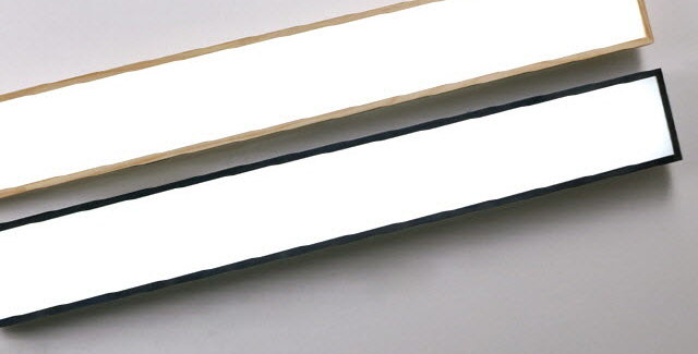 LED 로뎅 주방 1등 대 50W (블랙/원목)