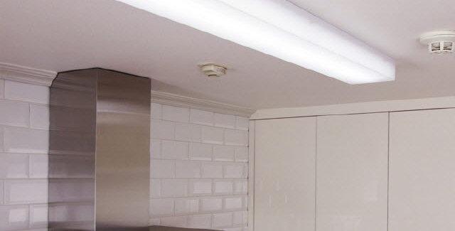 LED 크림 주방등 50W