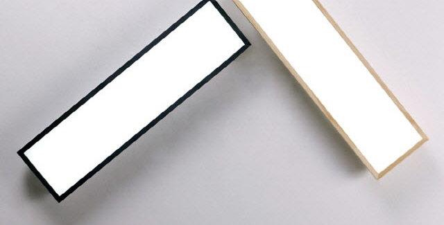 LED 로뎅 주방 1등 대 25W (블랙/원목)