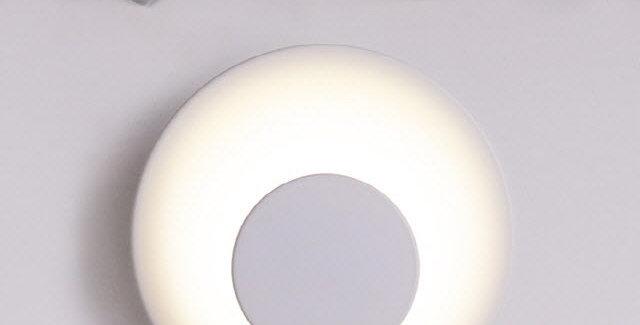 LED 더블원형 간접 벽등 3W(화이트)
