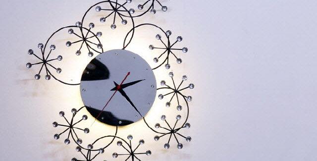 LED 시계벽등 눈꽃 CL505