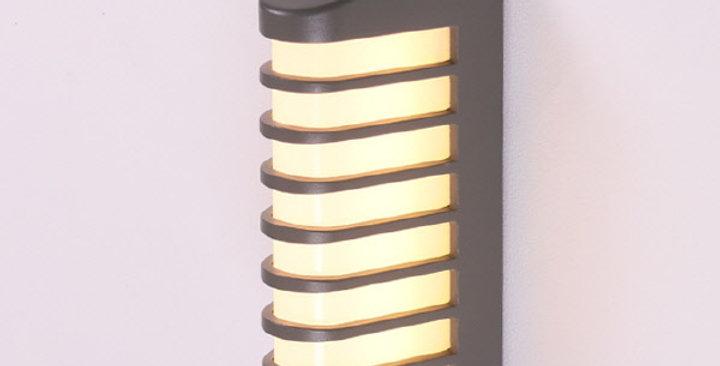 LED 폭스 외부벽등 12W (그레이)
