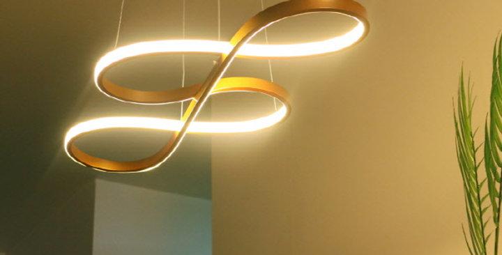 LED 뮤즈 펜던트 40W (브론즈골드)