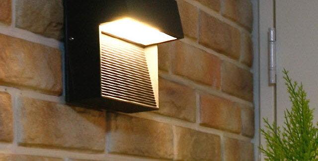 LED 2391 외부사각 계단벽등 대(大)