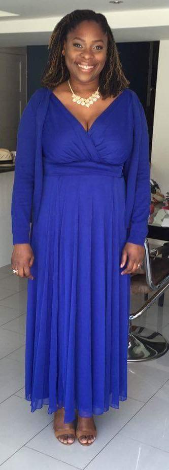 Bla kjol