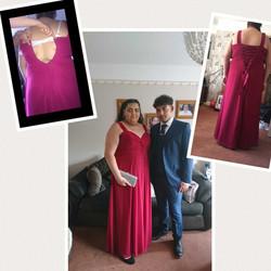 Dress alteration - Too small to satin la