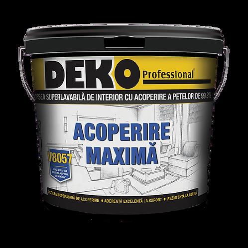 DEKO V8057 ACOPERIRE MAXIMA 99.3% VOPSEA SUPERLAVABILA PENTRU INTERIOR