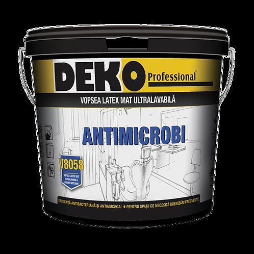 DEKO V8058 ANTIMICROBI - Pentru Scoli, Farmacii, Restaurante