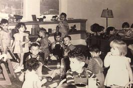 An old photo of a CKECC classroom