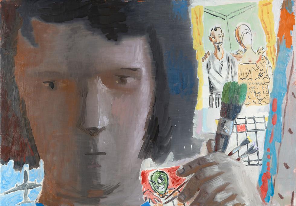 """Untitled (Green Brush)"", 2011"