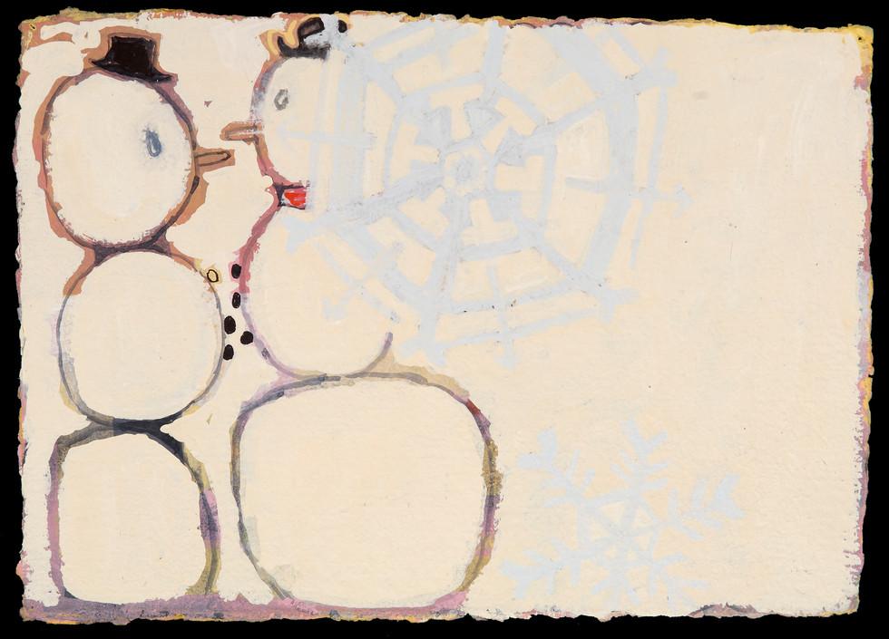 """""""Snowmen"""", 2007-08"""
