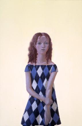 """Blue Argyle"", 2005"