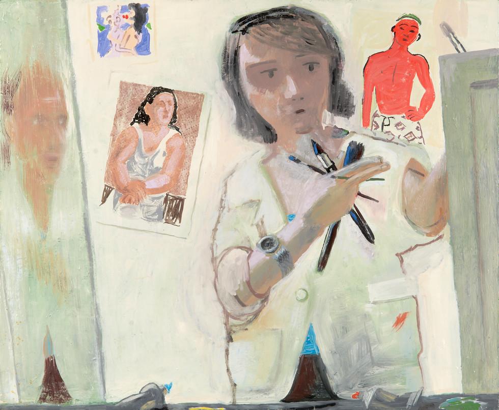 """""""Portrait (With Van Dongen)"""", 2011"""