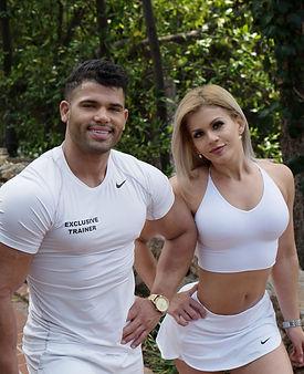 Exclusive Trainers Jayne Gomez and Michael Alvarez