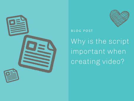Why is the script important when creating animated video?