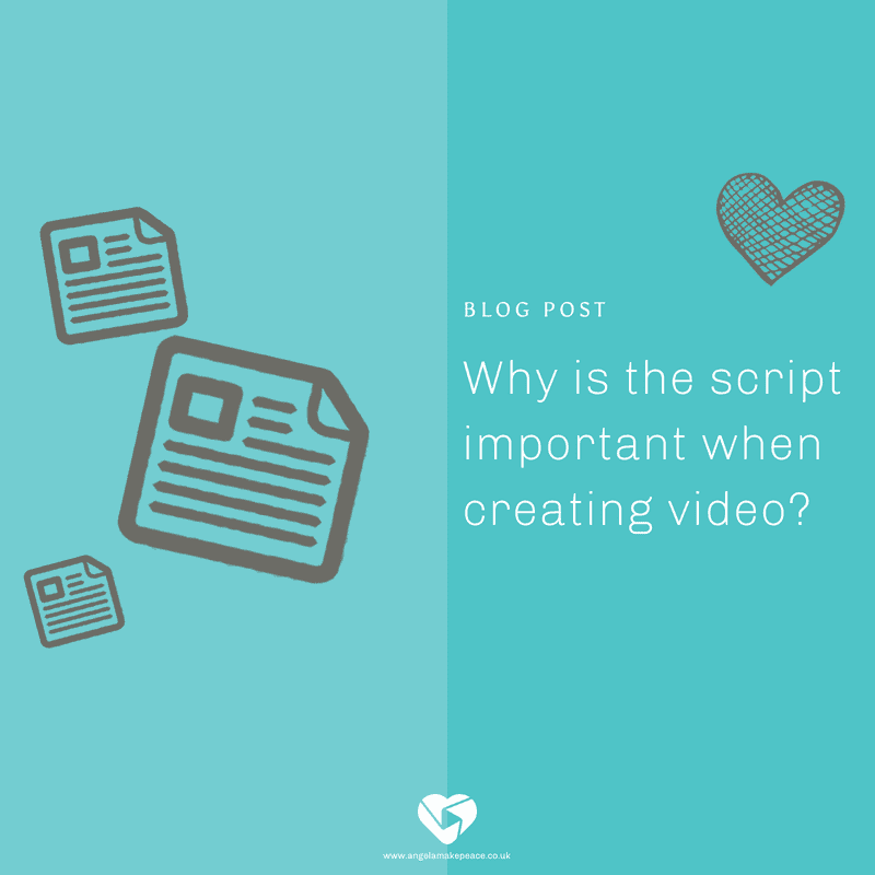 Why is the script is important when creating animated video?