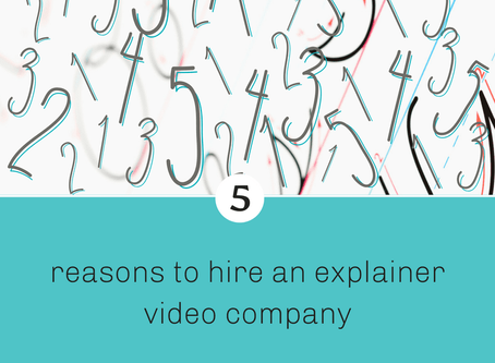5 reasons to hire an explainer video company