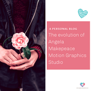 The evolution of Angela Makepeace Motion Graphics studio