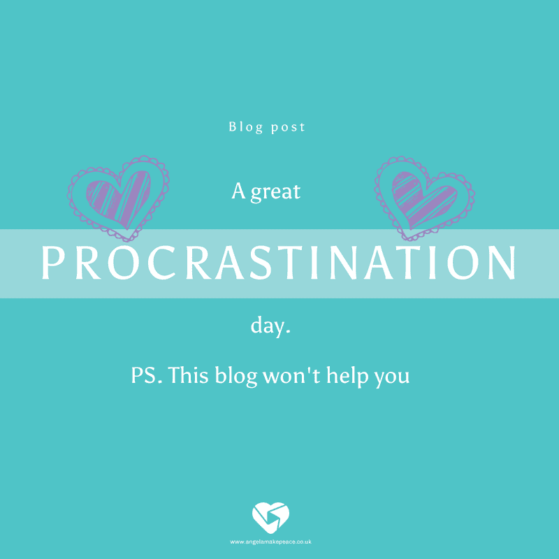 A great viral video: A procrastination day.