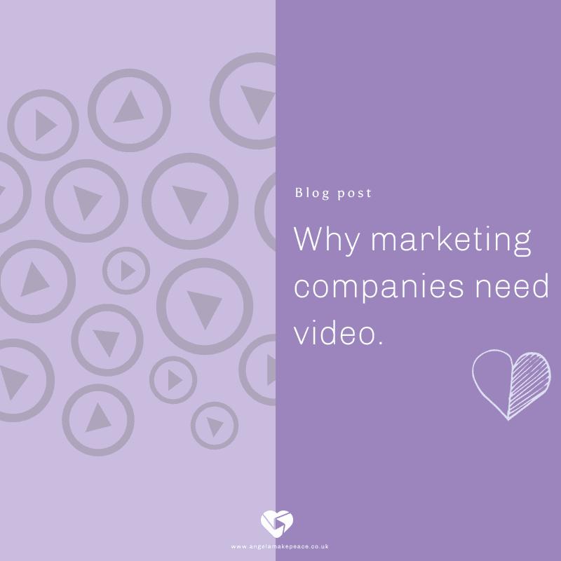 Why marketing companies need video