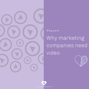 Why marketing companies need video