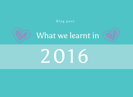 What We've Learnt in 2016