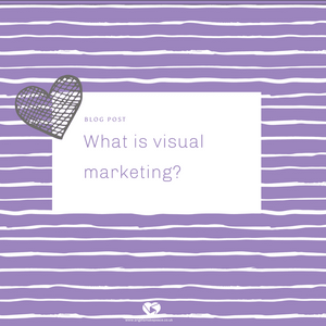 What is visual marketing?