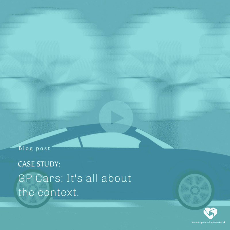 GP Cars – Why it's all about the context.