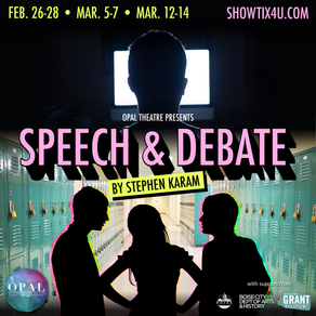 Now Available: Rent SPEECH & DEBATE for 48-hours!