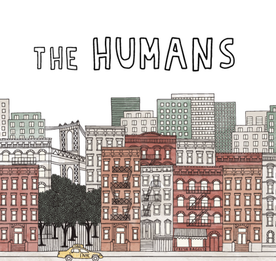 THE HUMANS Treefort poster