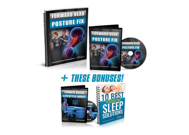 FORWARD HEAD POSTURE FIX IS THE SIMPLEST PROGRAM YOU CAN USE TO INSTANTLY IMPROVE YOUR POSTURE FOR G