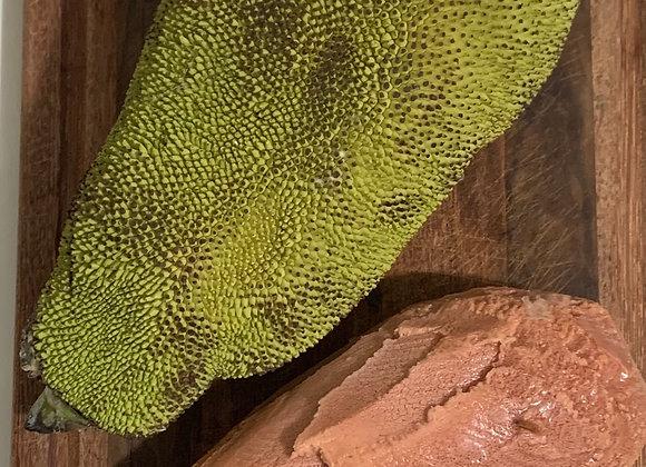 Carne de Jaca verde congelada (100g)