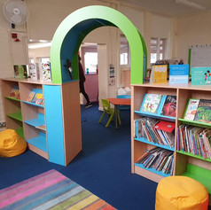 Infants new library funded by PTA