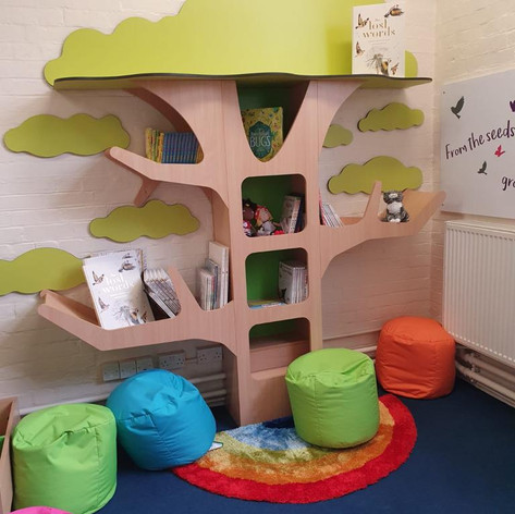 Infants new library funded by